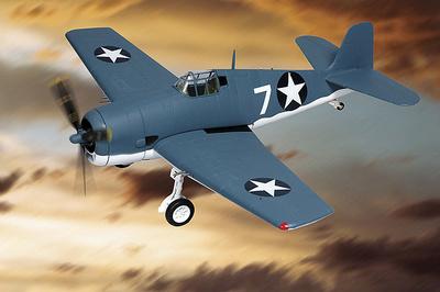 """F-6F3 Hellcat, U.S.Navy, VF 9 """"CAT-O-NINES"""" - CV 9, 1:48, Franklin Mint"""