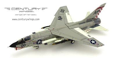 F-8 Crusader, VF-211 Fighting Checkmates, NP00, 1:72, Century Wings
