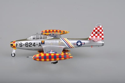 F-84E-30,Flown by 86th FBG Commander Col. George Laven,of 527th FBS , Germany, 1951, 1:72, Easy Model