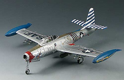 "F-84E Thunderjet, 36 FBW Commander, Germany 1952 ""Col. Robert Scott"", 1:72, Sky Max"