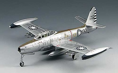 F-84G Thunderjet, 455th Tactical Fighter Wing, 1:72, Sky Max