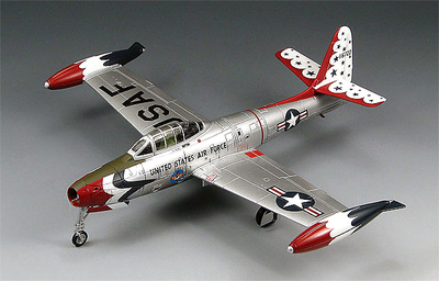 "F-84G Thunderjet, U.S. Air Force ""Thunderbirds,"" 1953, 1:72, SkyMax"