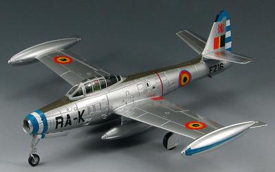 F-84G Thunderjet 27 Sqn., 10 Wing, Belgian AF, 1:72, SkyMax