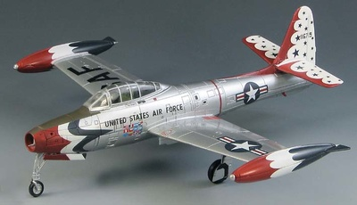 "F-84G Thunderjet U.S. Air Force ""Thunderbirds"" 1954,  1:72, Sky Max"