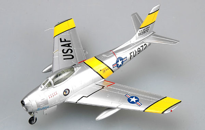 "F-86 ""Billie/Margie"", 335th FIS, Capt. Lonnie Moore, Julio, 1953, 1:72, Easy Model"