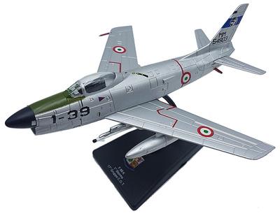 F-86 K, 1º Stormo, 17º Gruppo C.O.T. Aviación Militar Italiana, 1: 100, RCS Libri