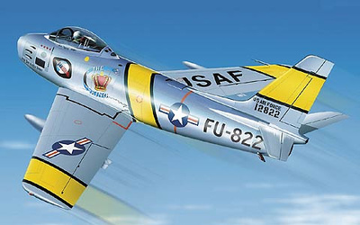 "F-86 Sabre ""Angel Face and the Babes"", 1:48, Franklin Mint"