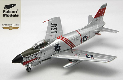 F-86D 75th Fighter Interceptor Squadron, August 1953, 1:72, Falcon Models