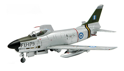 F-86D Sabre Dog, No 343 Interception Sqn, Greek Air Force, 1:72, Falcon Models