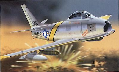 F-86F-1-NA Sabre, U.S.A.F. 25 FIS - 51 FIW, 1:48, Franklin Mint