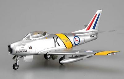 F-86F-30 Sabre, Fuerza Aérea Sudafricana, 2º Escuadrón, Corea, 1953, 1:72, Easy Model