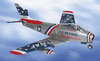 F-86F-35-NA SABRE, U.S.A.F. Europe, 1:48, Franklin Mint