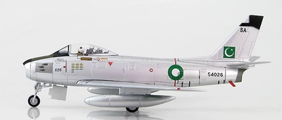 F-86F-40 Sabre Sqn Leader Modhammed Mahmood Alam, Pakistan Air Force, 1965, 1:72, Hobby Master