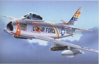 F-86F SABRE U.S.A.F. Europe, 1:48, Franklin Mint