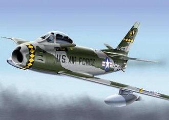 F-86F Sabre (USAFE), 461 FDS, 36 FDG, 1:48, Franklin Mint
