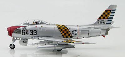 F-86F Sabre 6433, 1st TFW, ROCAF, Taiwan, 1959, 1:72, Hobby Master