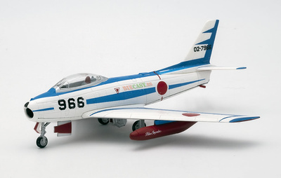 """F-86f-40 Saber """"Blue Impulse"""", JASDF, Japan, 1: 100, DeAgostini"""