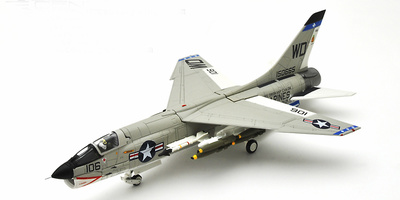 F-8E Crusader, U.S.Marine Corps VMF(AW)-212 Lancers WD106, 1965, 1:72, Century Wings