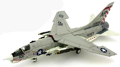 F-8E Crusader, U.S.Navy VF-211 Fighting Checkmates, NP101, 1:72, Century Wings