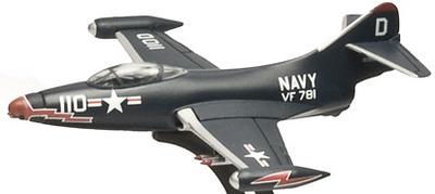 F-9F PANTHER, Grumman, 1949, US Navy, 1:100, Italeri