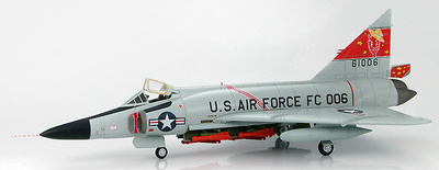 F102A-55-CO Delta Dagger, Zaragoza Air Base, Spain April 1962, 1:72, Hobby Master