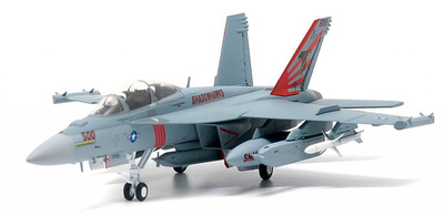 F18 Hornet US Navy, VAQ-141 Shadowhawks, USS Ronald Reagan, 2017, 1:72, JC Wings