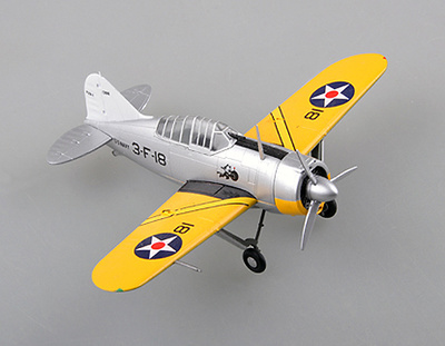 F2A-2 Buffalo, VF-2, USS Lexington CV2, 1:72, Easy Model