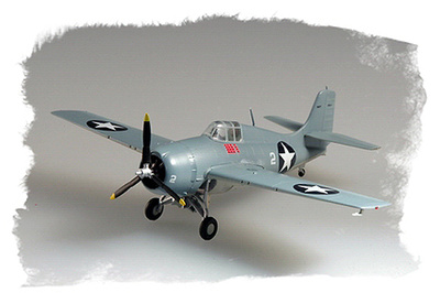 F4F-4 Wildcat, VMF-223 USMC, 1942, 1:72, Easy Model