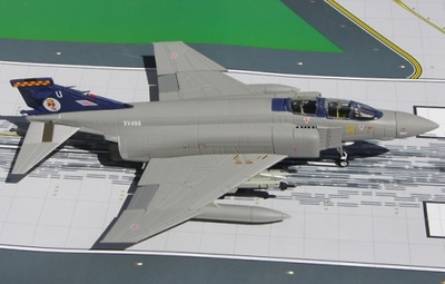 "F4M Phantom II, RAF 92nd Sqn, ""Wildenrath Germany"" XV498, 1:72, Gemini Aces"