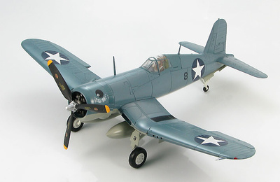 "F4U-1 Corsair ""Eight Ball/Dangerous Dan""  VMF-213, Guadalcanal, 1:48, Hobby Master"