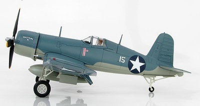 F4U-1 Corsair No.15, James N. Cuppmunda, VMF-213, 1943, 1:48, Hobby Master