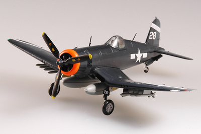F4U-1A Corsair, USS Hancock, 1945, 1:72, Easy Model
