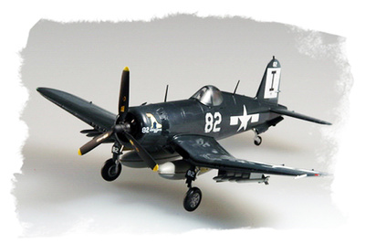 F4U-1D Corsair, VMF-511 USS Block Island, 1945, 1:72, Easy Model