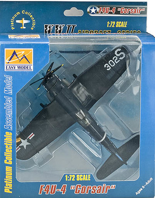 F4U-4 Corsair, 1952, 1:72, Easy Model