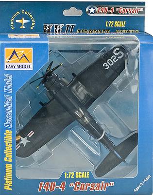 F4U-4 Corsair, 1952, 1:72, Easy Model