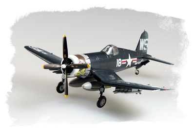 F4U-4 Corsair, VMF-323 U.S.M.C, Corea, 1952, 1:72, Easy Model