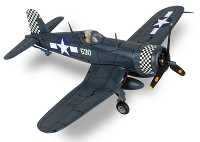 F4U Corsair, USMC VMF-312 Checkerboards, Merritt Chance, Okinawa, 1945, 1:72, Forces of Valor