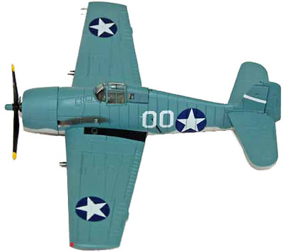 F6F-3 Hellcat, White 00 CVAG-5,USS Yorktown, 1:72, Dragon Wings
