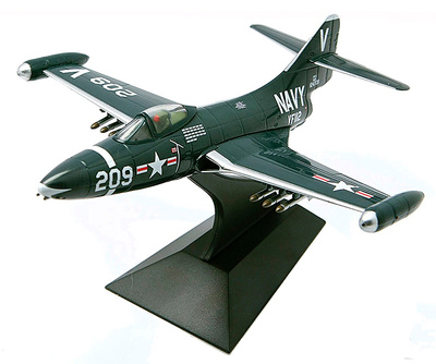 F9F-2 Panther, 124709, VF-112, V/209, USS Philippine Sea, 1:72, Falcon Models