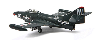 F9F-2 Panther, VMF-311, Capt. Ted Williams, 1:72, Falcon Models