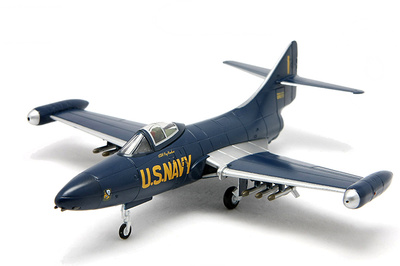 "F9F-5 Panther, United States Navy 126070, ""The Blue Angels"", 1953, 1:72, Falcon Models"