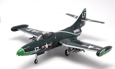 F9F-5 Panther 125698, VMFT-20, USMC, 1:72, Falcon Models