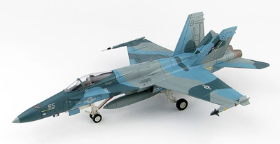 F/A-18A BuNo 162875, NSAWC 55, 2004-2006, 1:72, Hobby Master