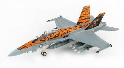 "F/A-18B Hornet ""Classic Hornet 1985-2019"" A21-116, 2 OCU, RAAF, Williamtown, 1:72, Hobby Master"