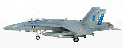"F/A-18C BuNo163459, VFA-82 ""CAG"", USS America, 2005, 1:72, Hobby Master"