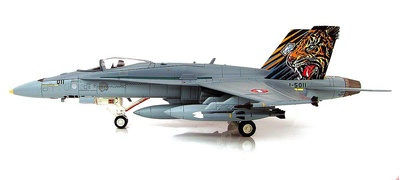 "F/A-18C Hornet J-5011, Swiss Air Force, ""NATO Tiger Meet 2016"", 1:72, Hobby Master"