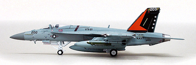 F/A-18E Super Hornet, USN VFA-81 Sunliners, 1:72, Witty Wings