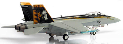 "F/A-18E USN FVA27 Naval Air Fac Japan ""Royal Maces"", 1:200, Hogan"