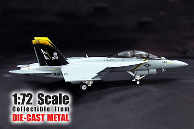"FA-18F, ""Jolly Rogers"", US Navy, 1:72, Witty Wings"