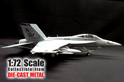 F/A-18F Super Hornet, Black Knight (TWIN SEAT), 1:72, Witty Wings